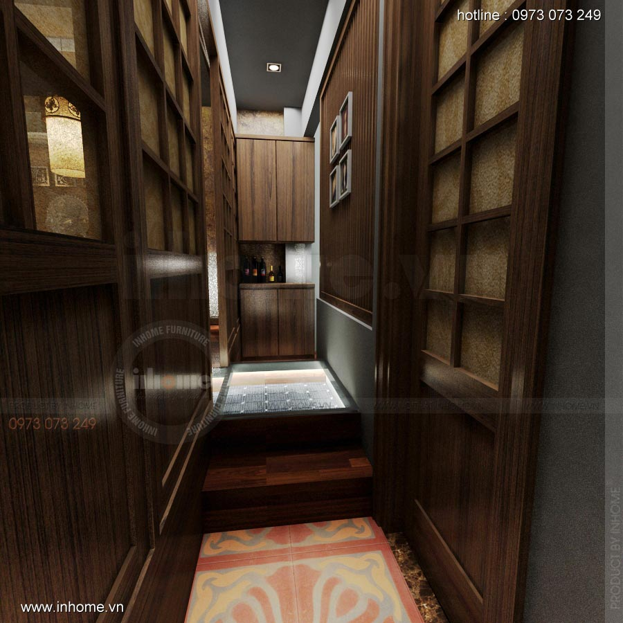 Thiết kế nội thất nhà hàng Nhật 15