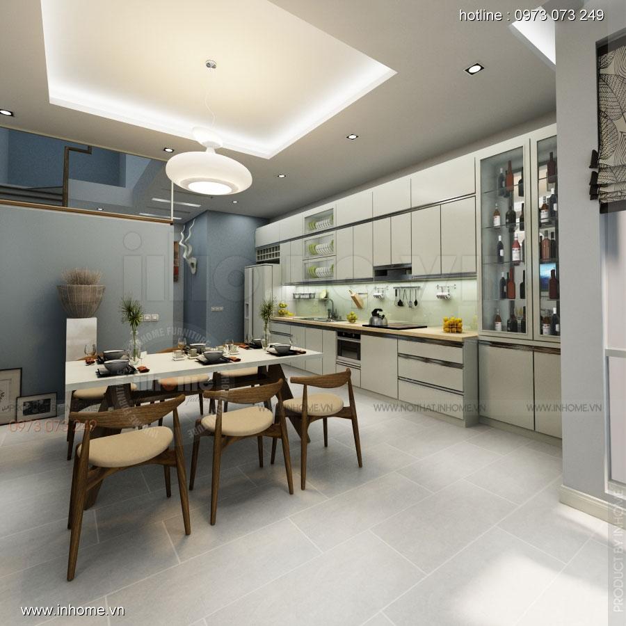 Thiết kế nội thất nhà phân lô, đô thị Xuân Phương Viglacera 04