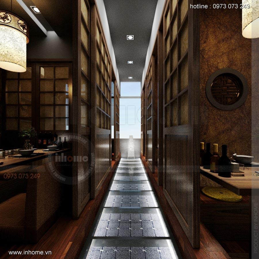 Thiết kế nội thất nhà hàng Nhật 17