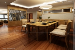 Thiết kế nội thất chung cư Thăng Long Number One Viglacera