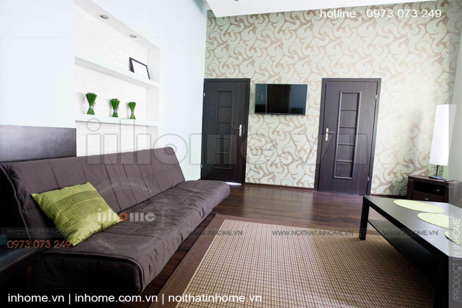 Thiết kế căn hộ 60m2 2 phòng ngủ 11