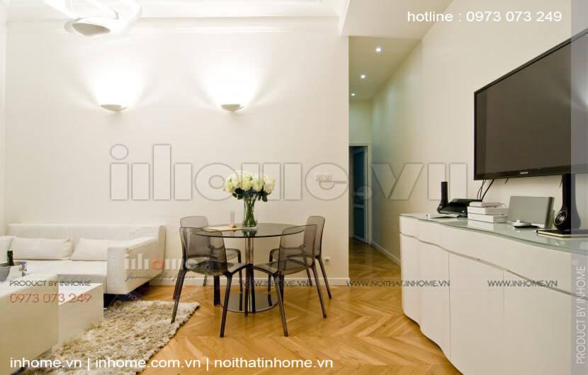 Thiết kế căn hộ 60m2 2 phòng ngủ 12