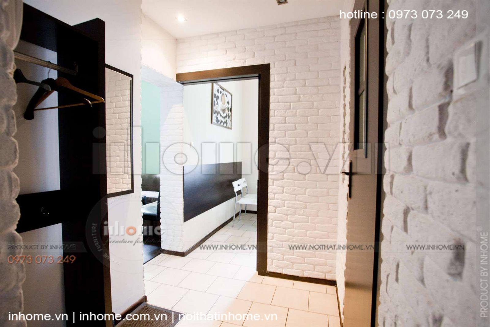Thiết kế căn hộ 60m2 2 phòng ngủ 07