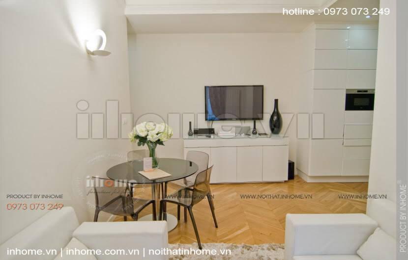 Thiết kế căn hộ 60m2 2 phòng ngủ 09