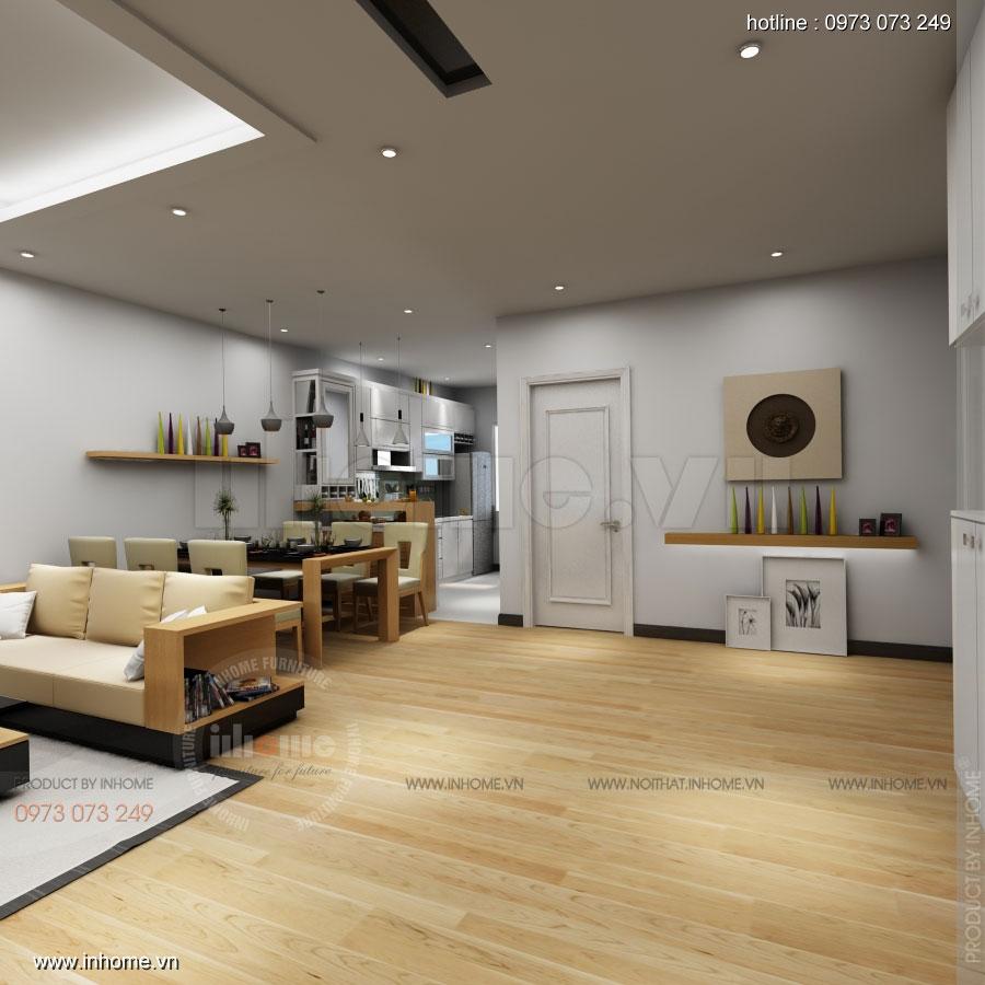 Thiết kế nội thất chung cư Skylight 02