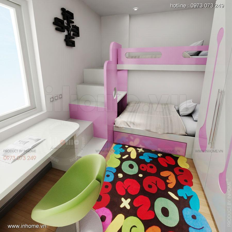 Thiết kế nội thất chung cư Xuân Đỉnh 09