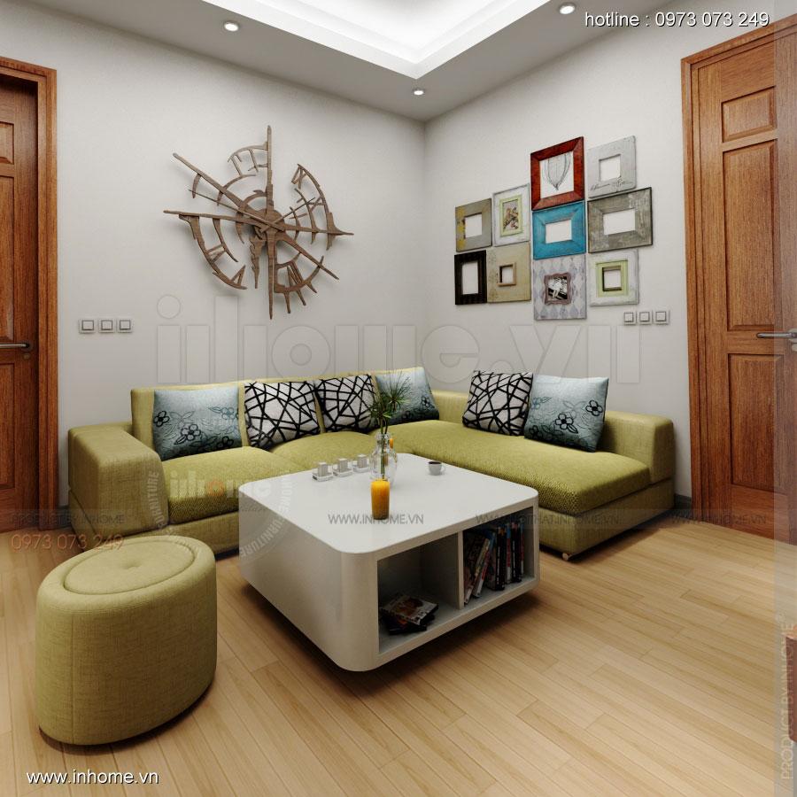 Thiết kế nội thất chung cư Xuân Đỉnh 01