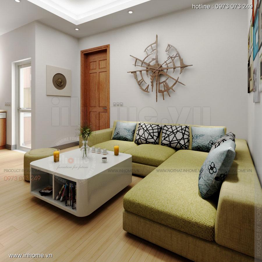 Thiết kế nội thất chung cư Xuân Đỉnh 03