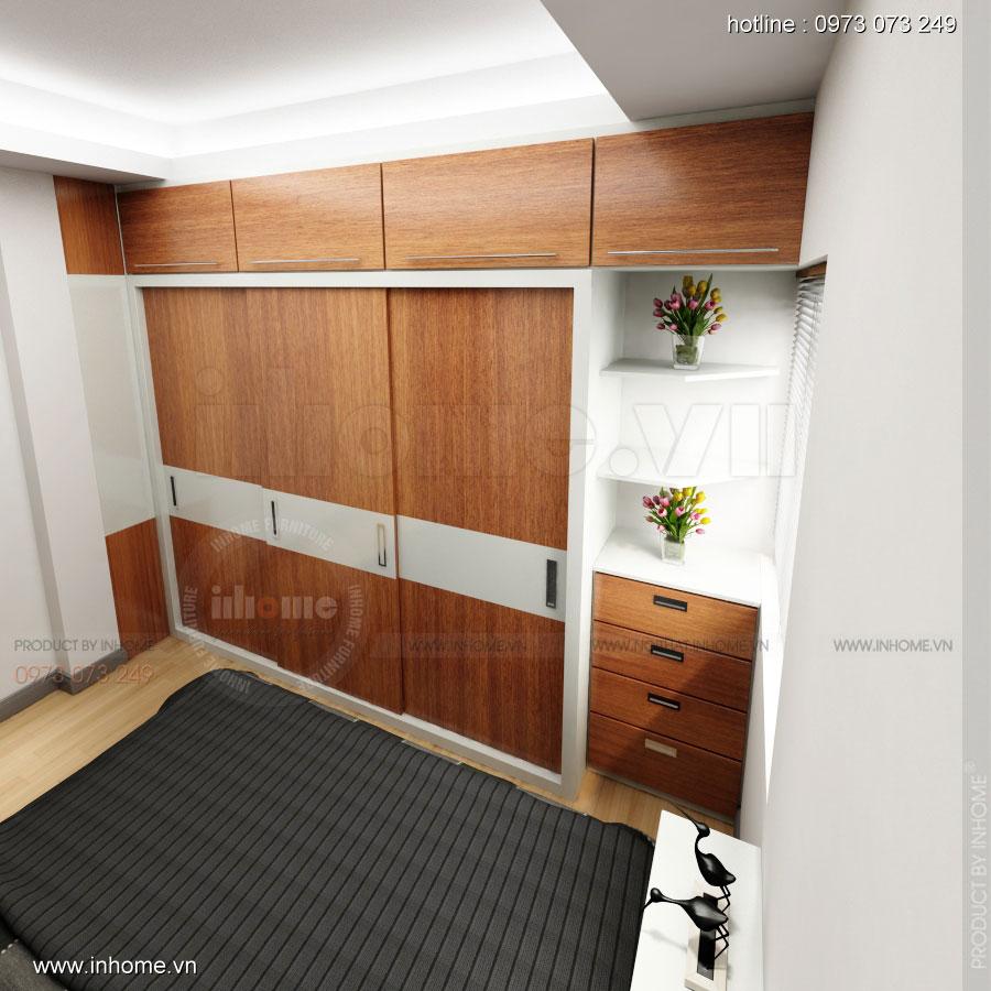 Thiết kế nội thất chung cư Xuân Đỉnh 04