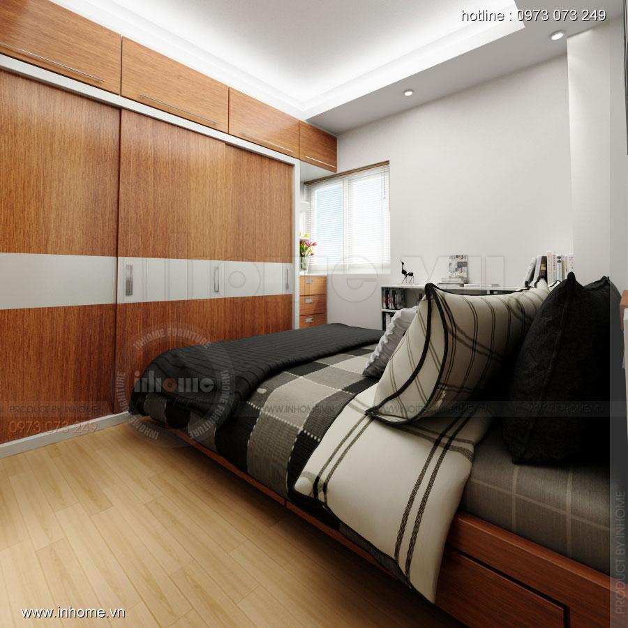 Thiết kế nội thất chung cư Xuân Đỉnh 05