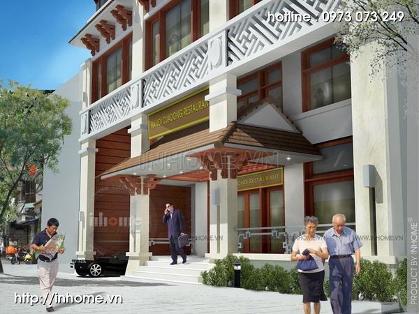 Thiết kế khách sạn Cầu Đông 13