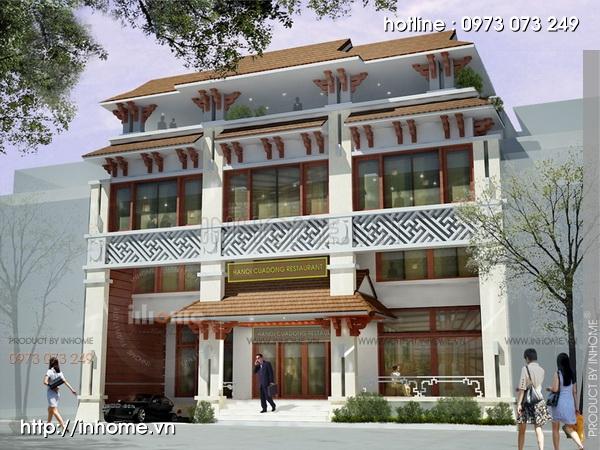 Thiết kế khách sạn Cầu Đông 14