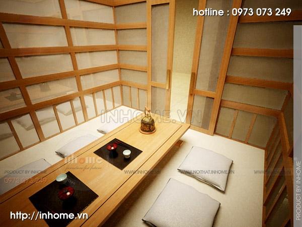 Thiết kế nhà hàng Nhật 09
