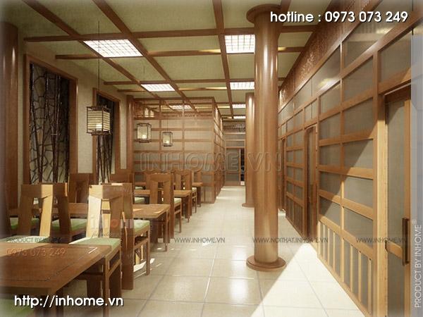 Thiết kế nhà hàng Nhật 11