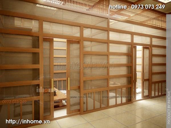 Thiết kế nhà hàng Nhật 12