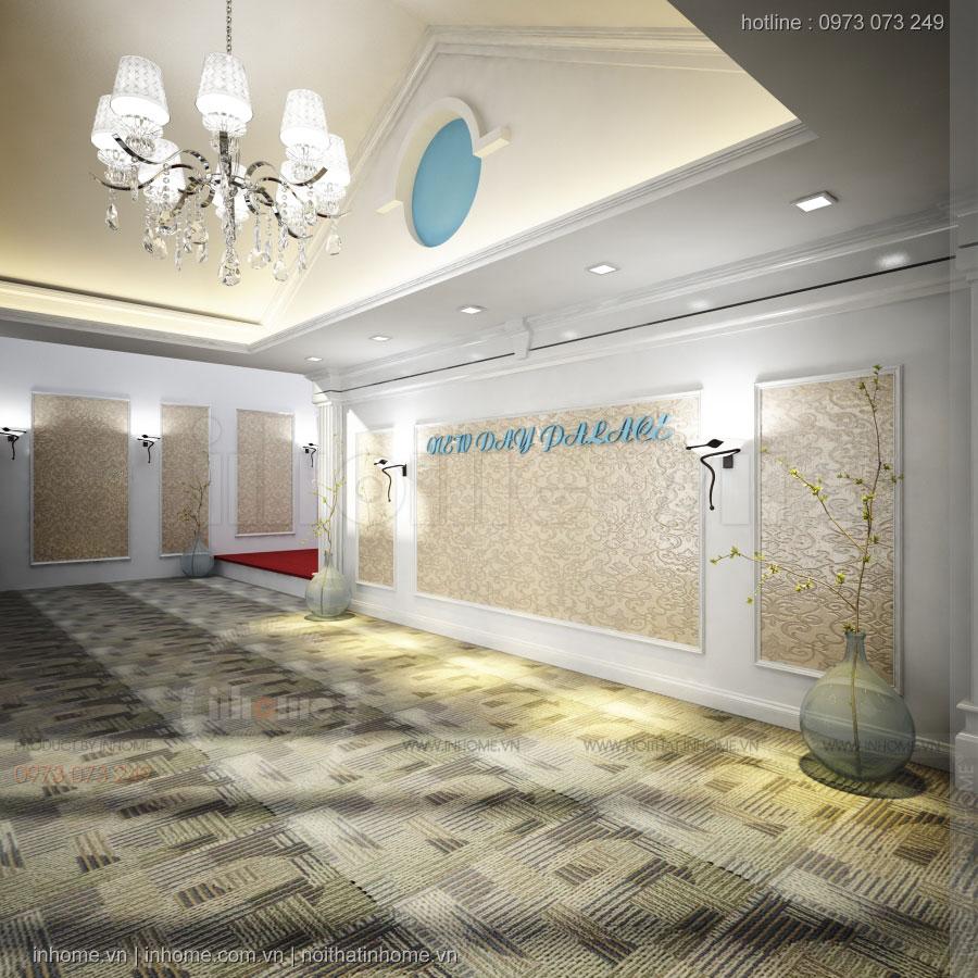 Thiết kế trung tâm tiệc cưới