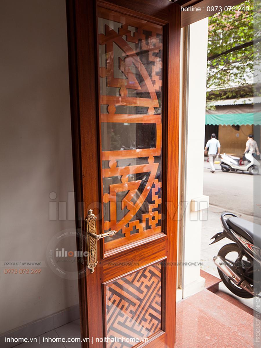Thiết kế nhà phố đẹp theo phong cách nhà Việt xưa phố Hàng Chĩnh 05