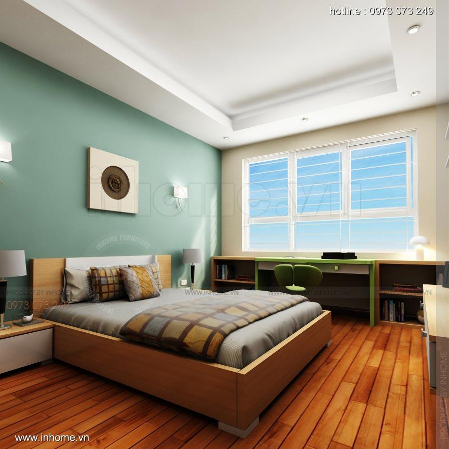 Thiết kế nội thất chung cư 17T1-Ct2 Vinaconex 3 10