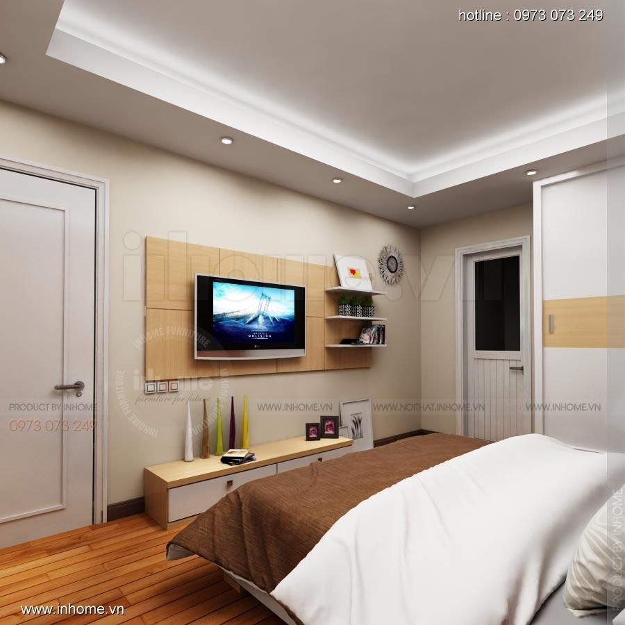 Thiết kế nội thất chung cư 17T1-Ct2 Vinaconex 3 11