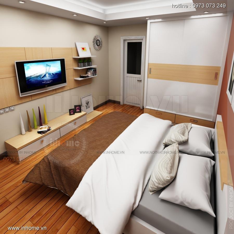 Thiết kế nội thất chung cư 17T1-Ct2 Vinaconex 3 12