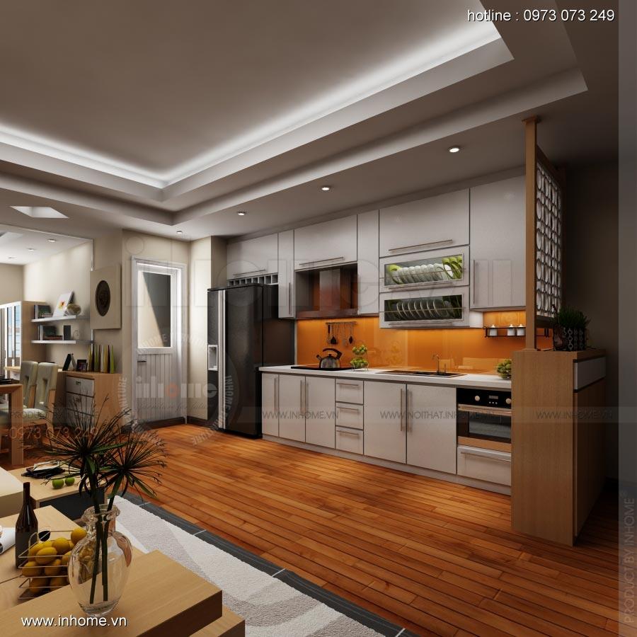 Thiết kế nội thất chung cư 17T1-Ct2 Vinaconex 3 04