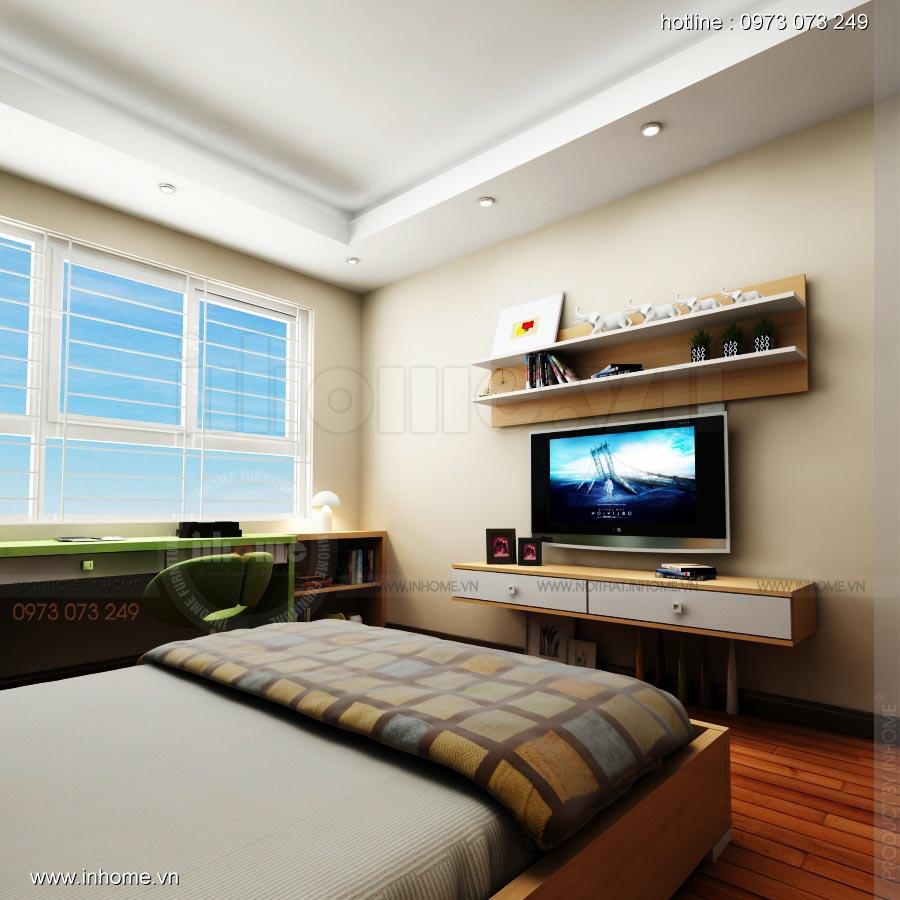Thiết kế nội thất chung cư 17T1-Ct2 Vinaconex 3 07
