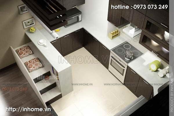 Thiết kế nội thất chung cư Mỹ Đình 05