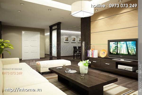 Thiết kế nội thất chung cư Mỹ Đình 07
