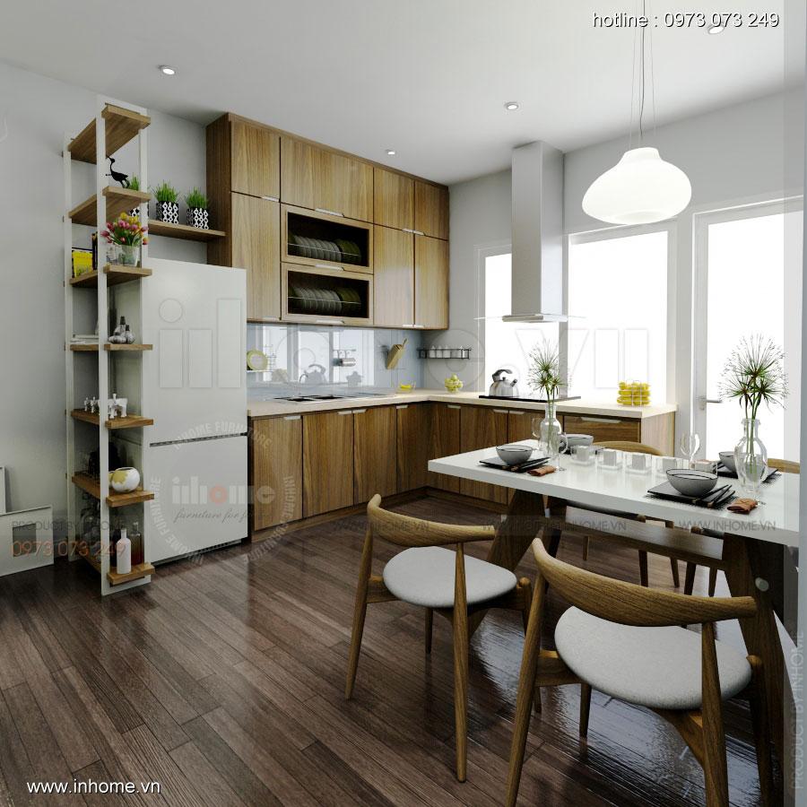 Thiết kế nội thất chung cư 64m2 cho 4 người ở 05
