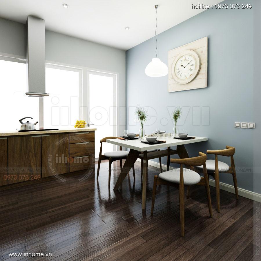 Thiết kế nội thất chung cư 64m2 cho 4 người ở 06
