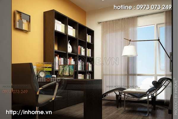 Thiết kế nội thất chung cư Mỹ Đình 08