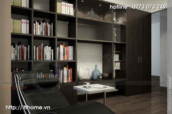 Thiết kế nội thất chung cư Mỹ Đình 09