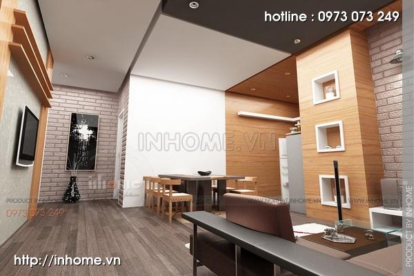 Thiết kế nội thất chung cư tòa nhà nhà A3 03