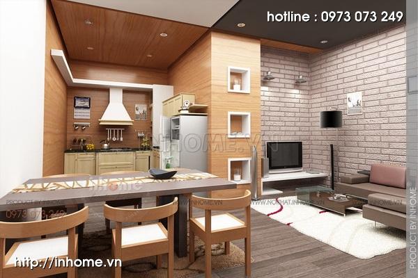 Thiết kế nội thất chung cư tòa nhà nhà A3 04