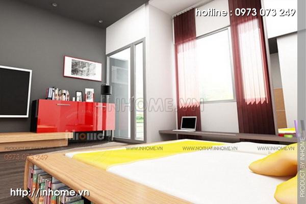 Thiết kế nội thất chung cư tòa nhà nhà A3 06