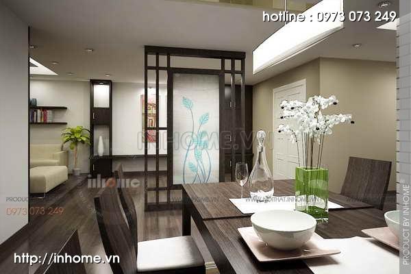 Thiết kế nội thất chung cư Mỹ Đình 02