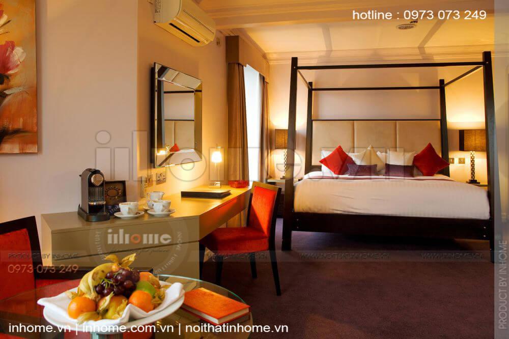 Thiết kế nội thất khách sạn mini đẹp hiện đại