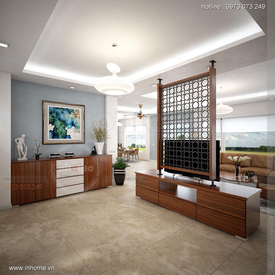 Thiết kế nội thất Biệt Thự đường Ngọc Trai