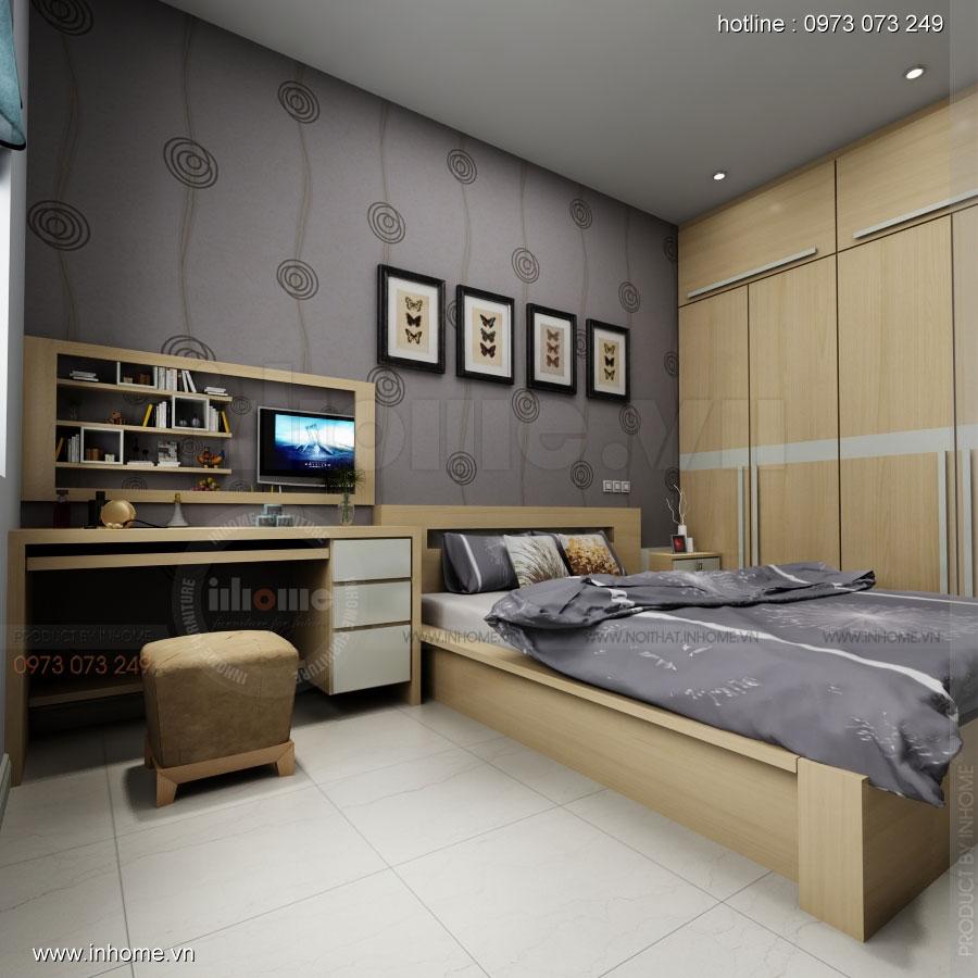 Thiết kế nội thất phòng ngủ 01