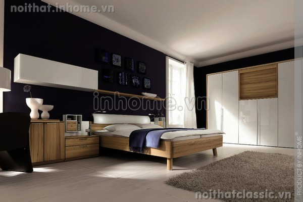 Thiết kế nội thất phòng ngủ đẹp hiện đại 07