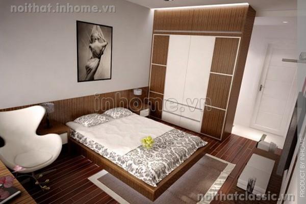 Thiết kế nội thất phòng ngủ đẹp hiện đại 12