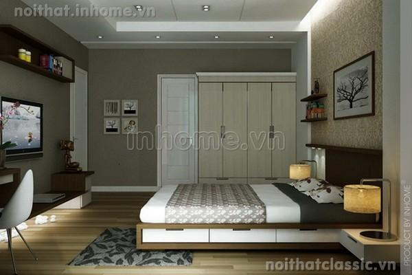 Thiết kế nội thất phòng ngủ đẹp hiện đại 13