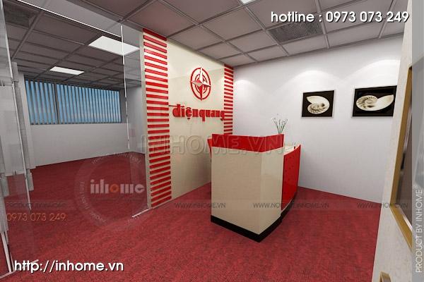 Thiết kế nội thất văn phòng Điện Quang 02
