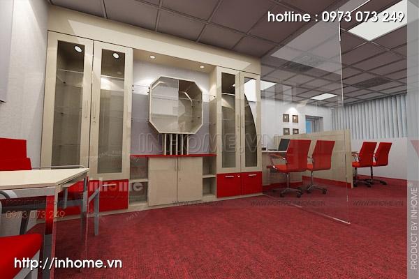 Thiết kế nội thất văn phòng Điện Quang 03
