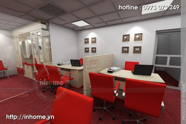 Thiết kế nội thất văn phòng Điện Quang 05