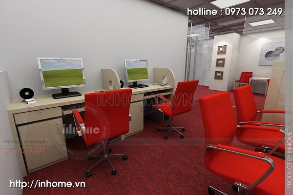 Thiết kế nội thất văn phòng Điện Quang 06