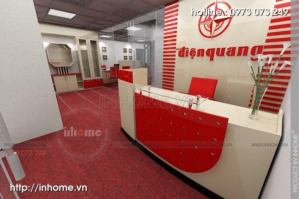 Thiết kế nội thất văn phòng Điện Quang 07