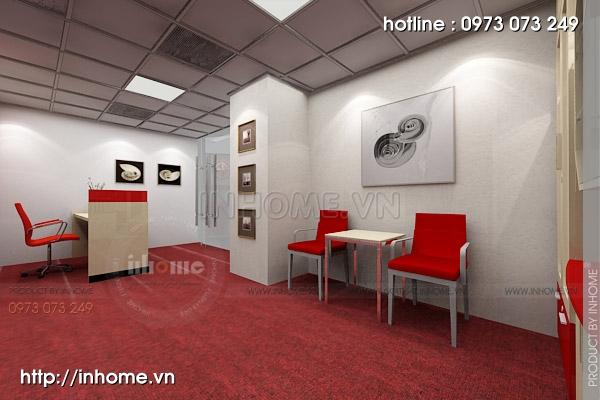 Thiết kế nội thất văn phòng Điện Quang 08