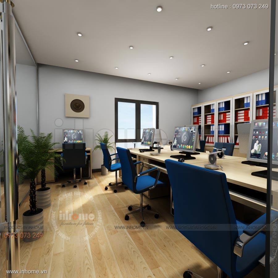 Thiết kế nội thất văn phòng công ty Nam Phát 02