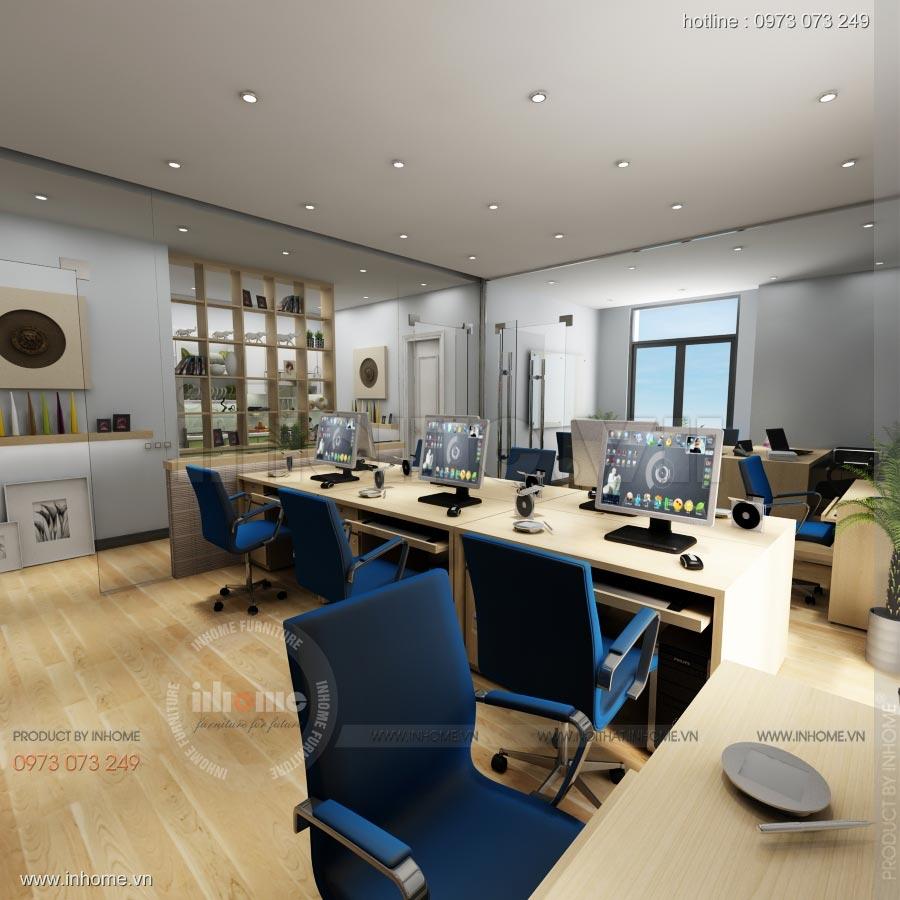 Thiết kế nội thất văn phòng công ty Nam Phát 03